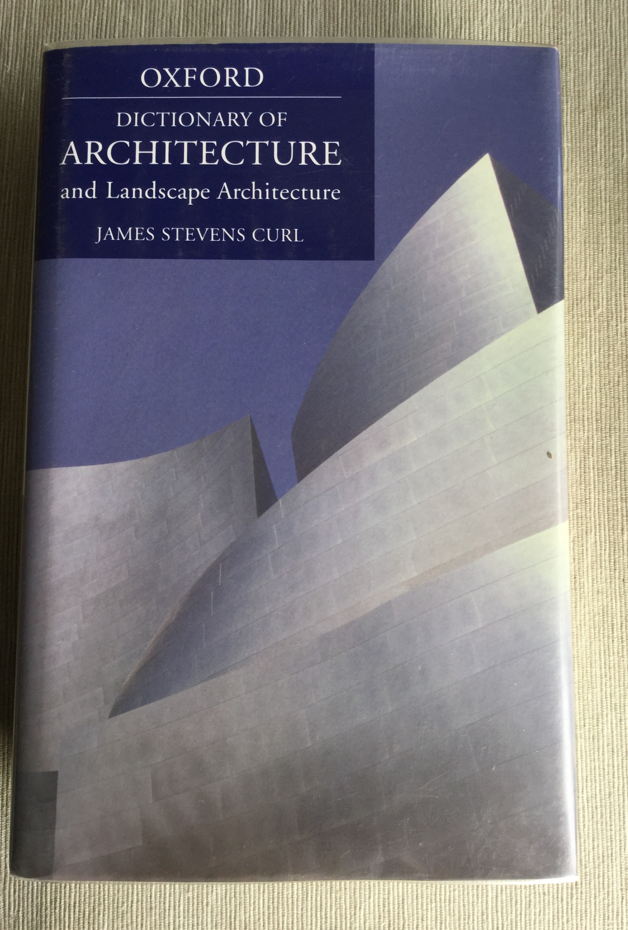 Image for A Dictionary of Architecture and Landscape Architecture