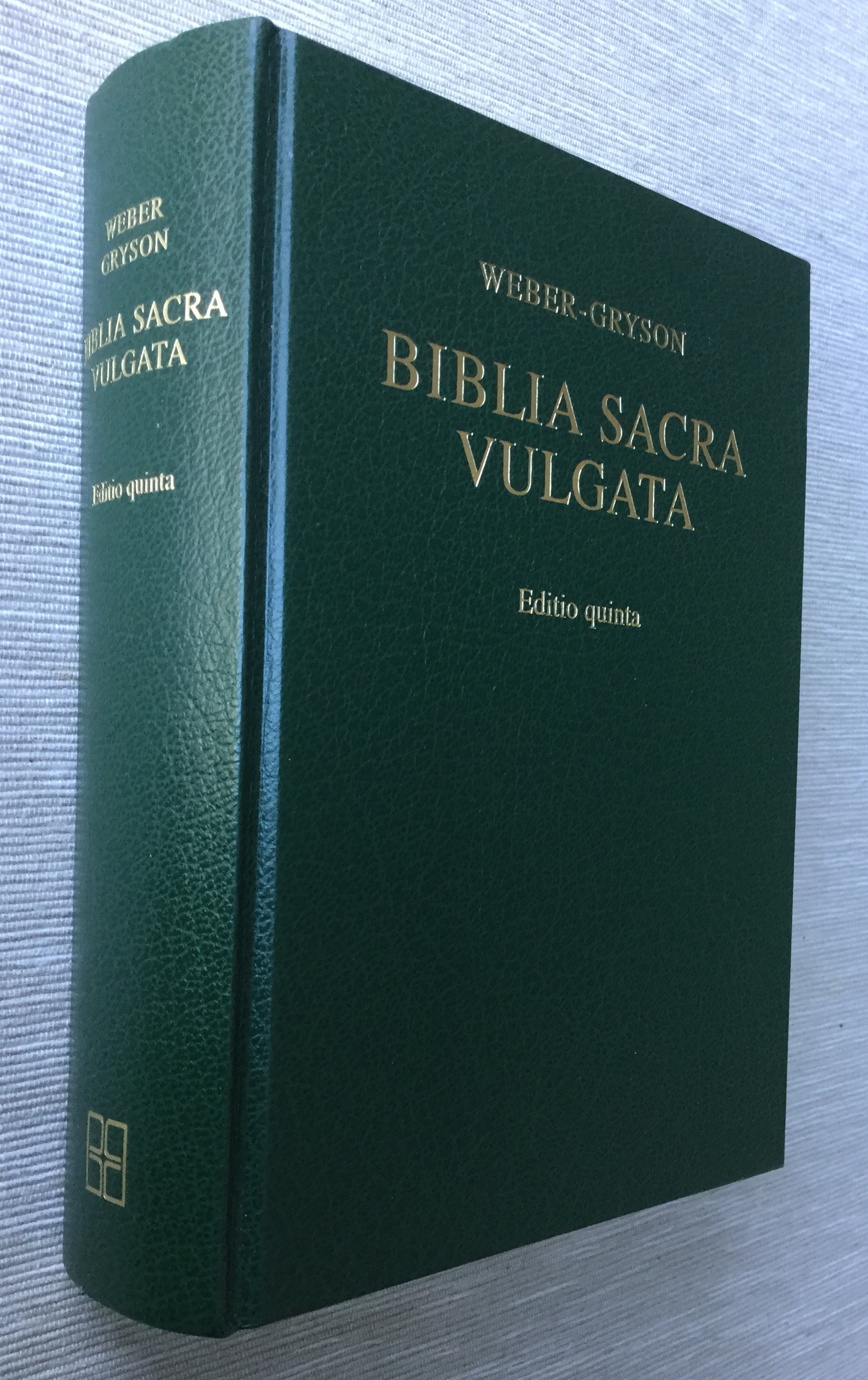 Image for Biblia Sacra Vulgata (Editio quinta) (Latin Edition)